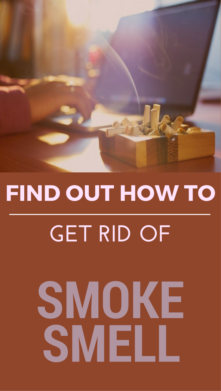 find out how to get rid of smoke smell